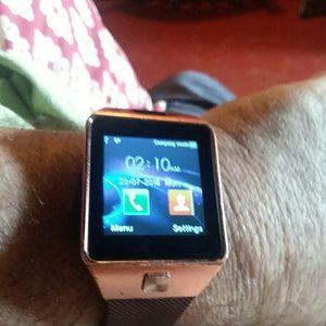 Rose Gold Smart Watch